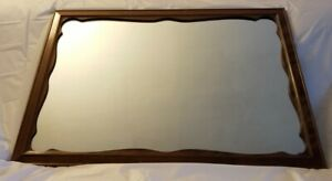 Ethan Allen Solid Maple hanging wall mirror 10-5010