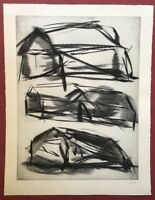 Rolf Rose, Kotten, Radierung, 1986, handsigniert und datiert