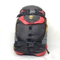Timberland Black Orange Outdoors Hiking Padded Backpack day Picnic Trail 20'' in