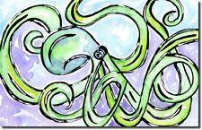 OCTOPUS WALL ART - Original Painting - sealife ocean artwork decor interesting