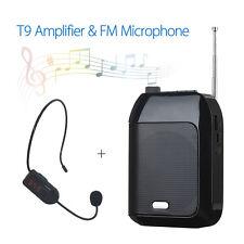 T9 Wired Voice Verstärker Lautsprecher + Wireless Mikrofone Lautsprecher 7.4V