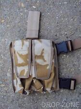 British Military Desert DPM SA80 M16 Ammo Ammunition Double Leg Pouch Webbing