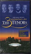 """CARRERAS DOMINGO PAVAROTTI """"THE 3 TENORS IN CONCERT"""" VHS 1994 a*vision sealed"""