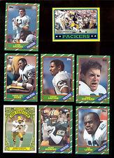 1986 Green Bay Packers Set JAMES LOFTON LYNN DICKEY MARK MURPHY PAUL COFFMAN