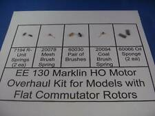 EE 130 NEW Marklin HO Motor Overhaul Kit f Flat Com Rotors