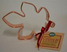 Wilton ~ Maple Leaf ~ Solid Copper Cookie Cutter w Tag ~ Kitchen Decoration