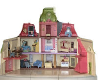 Fisher Price Loving Family Grand Mansion Dollhouses Lights & Sounds + Furniture