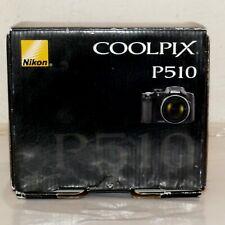 Camera COOLPIX P510 AUTHENITC NIKON Empty BOX  Original Owner USA SELLER