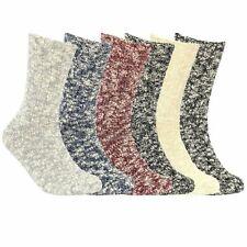 Weatherproof Vintage Womens Boot Socks 6-Pack Soft Cotton Blend Shoe Sz 5-9.5