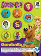 "Bulk Gumball Candy Vending Machine - 225pcs 1"" Scooby-Doo Bubble Gum Balls"
