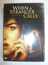 When a Stranger Calls DVD horror movie remake Camilla Belle Simon West NEW!