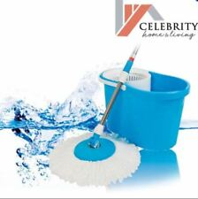 Celebrity 360 Rotation Microfiber Spin Mop (Blue)