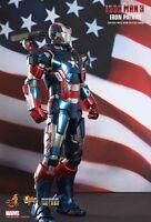 Hot Toys Iron Man 3 IRON PATRIOT 1/6 scale figure MMS195D01~Sideshow~NIB