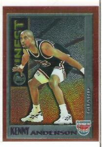 1995-96 FINEST KENNY ANDERSON MYSTERY FINEST
