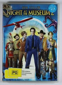 Night At The Museum 2 DVD Lenticular Cover FREE POST