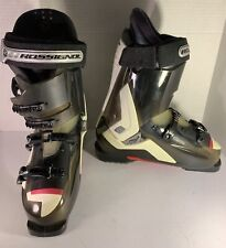 Excellent Rossignol Ski Boots Italy Size 26.5/ 8.5 Us Custom Air Fit 309mm