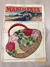 Rivista Femminile Mani Di Fata Settembre 1934