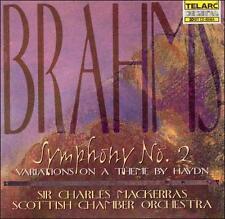 Brahms: Symphony No. 2; Variations (CD, Feb-2008, Telarc Distribution)