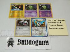 Lot of 5 Plasma Blast Uncommon Pokemon Cards Reverse Holo Eelektrik Duosion