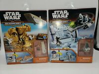 Star Wars The Force Awakens R2-D2 & Stormtrooper Playsets Micro Machines NEW