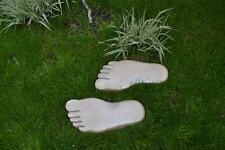 LEFT & RIGHT FOOT PRINT PAVING  CONCRETE STONE MOULD GARDEN PATH #S13