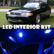 For 91-97 Lexus GS300 Blue LED Light Interior Full Xenon Bulb Kit QTY = 15
