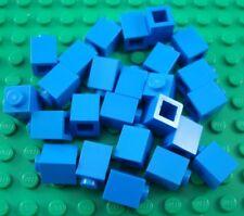 LEGO Lot of 25 Blue 1x1 Basic Building Brick Pieces