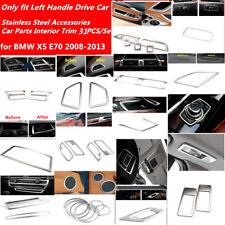 for BMW X5 E70 08-13 Matt Accessories Car Parts Inner Air Vent Outlet Trim 31PCS