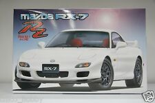 Fujimi 03513 ID-93 JDM Mazda RX-7 Type RZ FD3S BBS Wheels Recaro Seats Model Kit