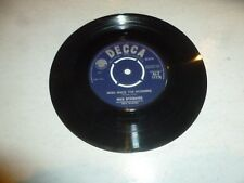"Max Bygraves-Jingle Bell Rock - 1959 Reino Unido Curvo UNBOXED Decca Logo 7"" SINGLE"