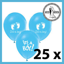 ITS A BOY Baby Shower palloncini festa nascita BAMBINO PARTY Bebek sekeri pullerparty Boy