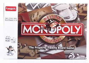 Monopoly Deluxe Board Game 2-8 Players Funskool Indoor Game Age 8+
