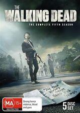 The Walking Dead : Season 5 (DVD, 2015, 5-Disc Set) REGION 4