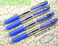 free ship 30pcs ZEBRA SARASA Clip 0.5mm Roller ball Pen BLUE ink