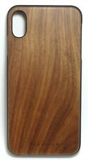 Platinum - Natural Wood Case for Apple iPhone XS Max - Walnut Wood