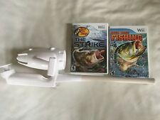 BASS PRO SHOPS THE STRIKE Nintendo Wii Game lot