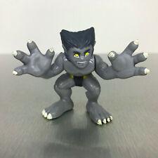 Marvel Super Hero Squad GRAY BEAST figure grey X-Men from Doom of the Dark Beast