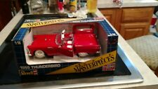 Revell Scale Masterpieces 1955 Thunderbird Convertible with Top 1:18 Scale, 1990