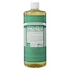 Dr. Bronners Magic Soaps Liquid Castile Soap Almond 32 Oz