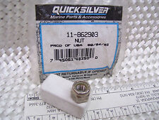 Quicksilver:  Nut, Single  P# 11-862903,  /  (6349)