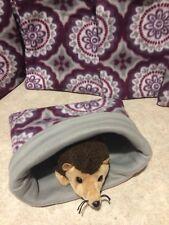 Purple medial - snuggle sack- small Bonding Bag - Hedgehog -guinea Pig Free Ship