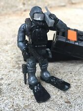 LEGO / Mega Bloks Call of Duty Seal Team Frogman Silver Suit Underwater Diver!!!