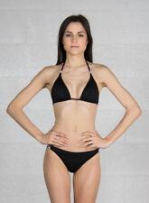 Abbigliamento nero in poliestere per il mare e la piscina da donna taglia 42