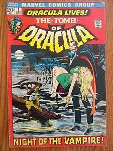 TOMB of DRACULA  Night of the Vampire  MARVEL COMIC VOL. 1 NO. 1 APRIL 1972