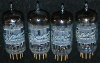 4 PIECES NOS 5751 GOLD PIN GENERAL ELECTRIC TUBES 12AX7 ECC83 WORKING EXCELLENT
