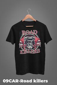 Car Retro T-shirts Design Muscle car