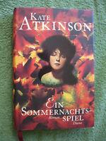 Ein Sommernachtsspiel Von Kate Atkinson Roman Gebunden
