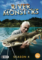 River Monsters: Season 4 DVD (2015) Lisa Bosak Lucas cert E 2 discs ***NEW***
