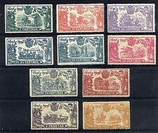 EDIFIL 257/266 * ESPAÑA 1905  CON EXCEPCIONAL CENTRAJE (Ref-598)