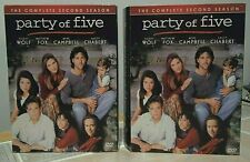 """""""Party of Five"""" Complete 2nd Second Season (DVD, 2005 5-Disc) TEEN Family DRAMA"""
